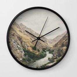 the Kern River .. Wall Clock