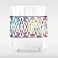 diamonds Shower Curtains featuring Diamonds by Last Call