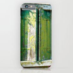 Old green window Slim Case iPhone 6s