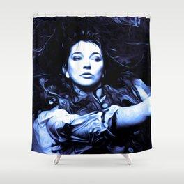 Kate Bush - The Ninth Wave - Pop Art Shower Curtain