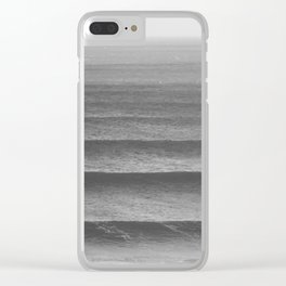 EAT, SLEEP, SURF AND REPEAT! Clear iPhone Case