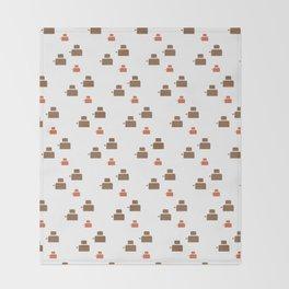 TOASTER PATTERN Throw Blanket