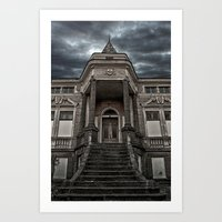 Dark Castle Art Print
