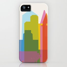 Shapes of San Diego iPhone Case