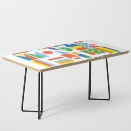 What A Wonderful World II Coffee Table