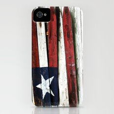 The Grand Ol' Wooden Flag Slim Case iPhone (4, 4s)