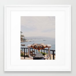 Laguna Beach, California Framed Art Print