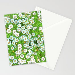 Daisies Painting Stationery Cards