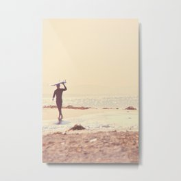 Surfer photograph. A Visceral Need Metal Print