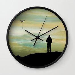Dron Lunatic Wall Clock