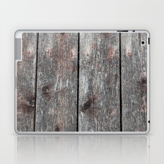 Wood II landscape Laptop & iPad Skin
