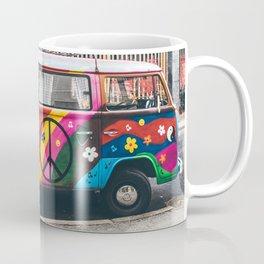 combi color flower pattern Coffee Mug