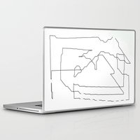 maps Laptop & iPad Skins featuring Maps  by short stories gallery