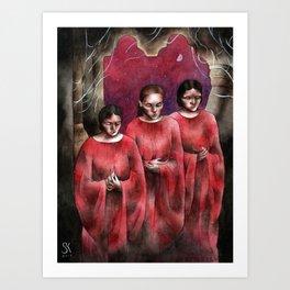 Brides of Dracula Art Print