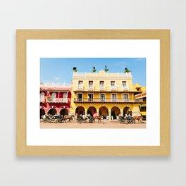 COLOMBIA 5 Framed Art Print