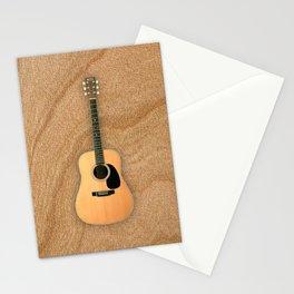 Wonderful Martin Acoustic Guitar  Stationery Cards
