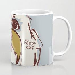Lulz - blue/oker Coffee Mug