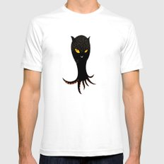Jaguar Squid White Mens Fitted Tee SMALL