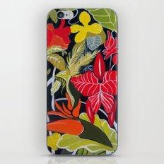 Paradise Flowers iPhone & iPod Skin