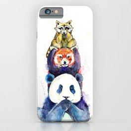 Pandamonium iPhone Case