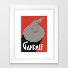 Gandalf Beer Framed Art Print