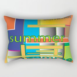 Summer fest Rectangular Pillow
