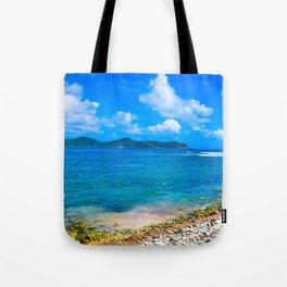 Coral Bay Shoreline Tote Bag