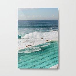 Bondi Beach - Sydney Australia Metal Print