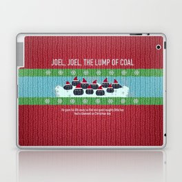 Lump of Coal / Christmas Sweater Laptop & iPad Skin