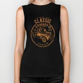 classic garage Biker Tank