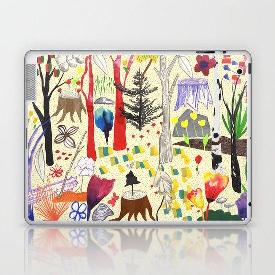 Magical Wood Laptop & iPad Skin