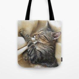 It's A Cat's Life Tote Bag