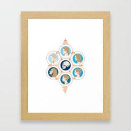 Circle of Life Framed Art Print