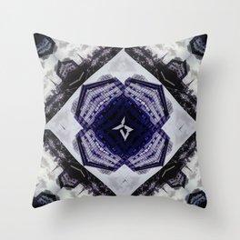 Concrete Yogi Throw Pillow