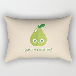You're Pearfect Rectangular Pillow