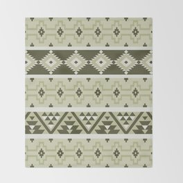 Indian pattern 3 Throw Blanket