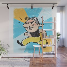 See Billy Walk... RUN! Wall Mural