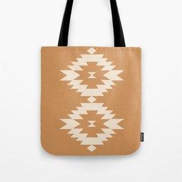 Southwestern Minimalism - Desert Orange Tote Bag