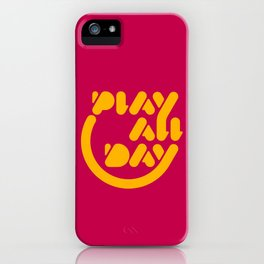 Play All Day iPhone Case