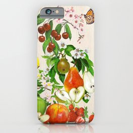 Fruit and Blossom Composition iPhone Case