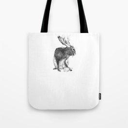 Japanese jackalope Tote Bag