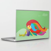 musa Laptop & iPad Skins featuring Musa by Juliana Rojas | Puchu