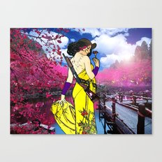Solace in Spring Canvas Print