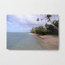 Glorious Beach Metal Print