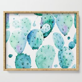 Cactus commotion II Serving Tray