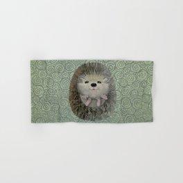 Cute Baby Hedgehog Hand & Bath Towel