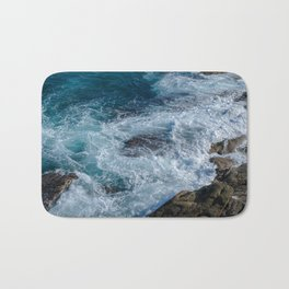troubled waters Bath Mat