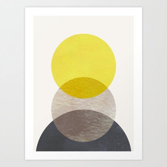 SUN MOON EARTH by georgianaparaschiv