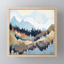 Spring Flight Framed Mini Art Print