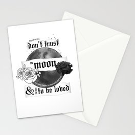 Good Mourning Lyrics Stationery Cards
